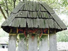 Village Museum (Miranda Ruiter) Tags: bucarest romania iconography religion orthodox jesuschrist village museum wood