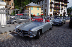 Mercedes Benz 190 SL (Andrea the sleeper) Tags: w121b ii coppa doro delle dolomiti cortina dampezzo aci asi storico race car auto historical revila revival