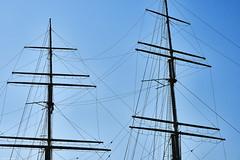 Hamburg Segelschiff Farbe (rainerneumann831) Tags: hamburg hafen masten segelschiff linien