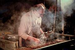 Arrosticini (Domenico Laviano) Tags: arrosticini carne griglia italia abruzzo fumo street