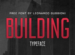 Get Building free font (vectorarea) Tags: fonts freefontsprint sansserif uppercase