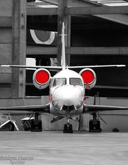 Astra (Antnio A. Huergo de Carvalho) Tags: iai iai1125 israel israelaircraftindustries astra gulfstream ptmbz aviation aircraft airplane aviao avio aviaoexecutiva facetoface blackandwhite