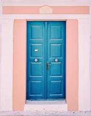 "Blue Door (""louisheublein"") Tags: blue door tar blau architecture structure greece island wall house"