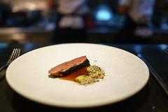 Duck Breast, Eggplant, Leek, Korean Date (Premshree Pillai) Tags: singapore singaporeaug16 summer summer2016 meta restaurant dinnerorone dinner food dinnerforone