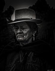 Old Lady in Rural Ecuador (Bernai Velarde-Light Seeker) Tags: rural old lady panama hat seora vieja anciana poverty pobreza ecuador sur south america byn bw sombrero bernai velarde mujer women