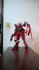 LEGO Justice Gundam ZGMF-X09A (demon14082001) Tags: lego gundam mobile suit seed moc creation perfect grade robot mecha destiny nn trng justice x09a x10a zgmf