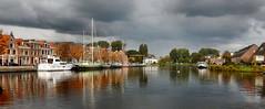 Noord-Hollands Kanaal,  Alkmaar (Meino NL) Tags: noordhollandskanaal bierkade alkmaar boten boats herfst autumn noordholland northholland nederland