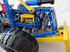 08e (nikolyakov) Tags: lego legotechnic eurobricks pneumatic logging skidder moc tc10