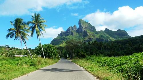Bora Bora inland - French Polynesia