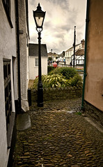 Watchet, Someset (c.richard) Tags: wet watchet cobblestones cobbles gaslight somerset coastal coastalpath
