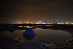 Liverpool Two Deep Water Container Terminal 30th October 2016 (Cassini2008) Tags: newbrighton wirral liverpooltwodeepwatercontainerterminal liverpool portofliverpool peelports