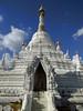White stupa - Chiang Mai, Thailand (ashabot) Tags: wat thailand buddhist buddhisttemple temple chiangmai whiteandblue simplicity seasia bluesky blue explore peaceful perfect serene interesting lovely beautiful