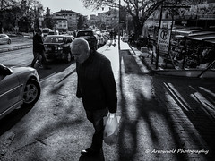 Street 207 (`ARroWCoLT) Tags: streetphotography sokak istanbul man walking phonecall people blackwhite bw art insan human arrowcolt monochrome nokia lumia 1020 bnwdemand bnwpeople bnw bnwstreet ishootpeople kadky perspective blackandwhite outdoor acbadem contralight sidewalk kaldrm mobiography