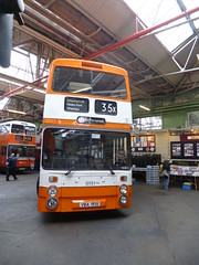 Preserved GMPTE 8151 (VBA151S) 10152016a (Rossendalian2013) Tags: preserved bus manchester gmpte greatermanchesterpte greatermanchestertransport leyland atlantean northerncounties an68a vba151s gmbuses gmbusesnorth greatermanchesterbusesnorthlimited