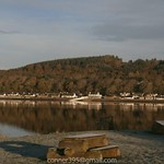 North Kessock Ferry Pier from South Kessock Inverness Scotland thumbnail