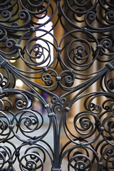 Dmotivation (Gerard Hermand) Tags: 1609054223 gerardhermand france bordeaux canon eos5dmarkii formatportrait intrieur inside glise church cathdrale cathedral saintandr fer forg wrought iron grille fence