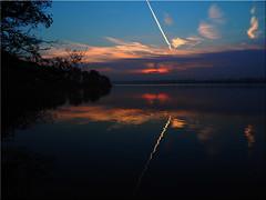 Sunset at the Lake Pönitz (Ostseetroll) Tags: deu deutschland geo:lat=5403704135 geo:lon=1070097392 geotagged pönitzamsee scharbeutz schleswigholstein sonnenuntergang sunset wasser water spiegelungen reflections