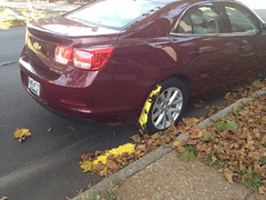 (plasticfootball) Tags: chevrolet paint oops stlouis missouri yellow bentonparkwest