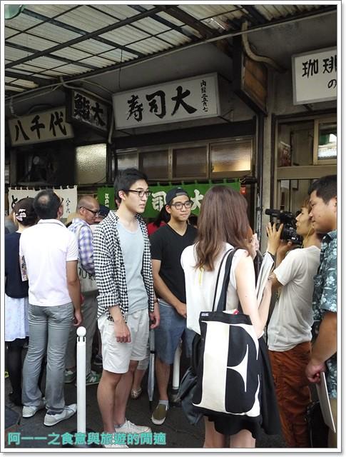 東京築地市場美食松露玉子燒海鮮丼海膽甜蝦黑瀨三郎鮮魚店image012