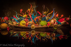 Chihuly Glass Exhibit (MarkNelsonJr84) Tags: seattle blue light summer house reflection chihuly art glass colors washington high nikon low center exhibit full iso touristy frame d750 handcrafted fx roygbiv 2015 24120mm denoise