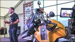 Miquel Silvestre con 'La Gorda', la R 1200 GS customizada poco antes de iniciar su nueva aventura: Operación Ararat