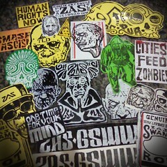 11899848_1487236091597263_5158816358430511396_n (andres musta) Tags: zas zombieartsquad zombie sticker stickerart andres musta art squad stickers adhesive andresmusta slaps