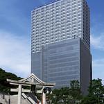 複合ビルの写真