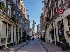 Amsterdam De Jordaan (peterpj) Tags: amsterdam canon hdr jordaan westertoren photomatix g1x amsterdamjordaanstation