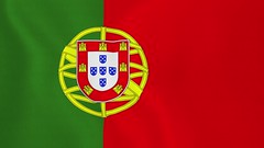 Loopable: Flag of Portugal - Creative Commons Footage (znichka.footage) Tags: travel holiday portugal closeup freedom design election shiny day symbol wind loop lisbon flag united unity politics country banner large silk culture objects textile celebrations fabric national finish animation government rippled pt satin independence patriotism waving portuguese seamless rendered textured detailed prt slowmotion southerneurope realistic threedimensional closeupshot portugueserepublic loopable