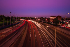 Long Exposure on the A13 Road London (Búzás Botond Photography) Tags: road london nikon long exposure tamron a13 d610 2875mm nd1000 londonplaistow