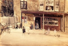 whistler_shop_an_exterior_c_1885 (Art Gallery ErgsArt) Tags: museum painting studio poster artwork gallery artgallery fineart paintings galleries virtual artists artmuseum oilpaintings pictureoftheday masterpiece artworks arthistory artexhibition oiloncanvas famousart canvaspainting galleryofart famousartists artmovement virtualgallery paintingsanddrawings bestoftheday artworkspaintings popularpainters paintingsofpaintings aboutpaintings famouspaintingartists