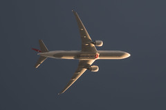 Turkish Airlines 777-3F2(ER) (Assaf_F) Tags: airplane nikon aviation telescope d750 airlines 777 turkish 773 dobsonian 777300