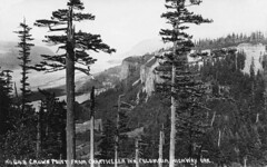 648 Crown Point from Chanticleer Inn Columbia Highway (Forest Service Pacific Northwest Region) Tags: historic photos columbia river gorge columbiarivergorge columbiarivergorgenationalscenicarea historical