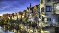 I was walk on the streets of Tbingen city (malioli) Tags: street city urban canon germany photography photo place image picture pic hdr tbingen badenwrttemberg deuchland
