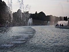 Multimedia Fountain Park in Warsaw (Oczyma Duszy) Tags: park autumn summer holiday fountain kids children fun memories olympus warsaw infants multimedia warszawa zabawa dzieci wakacje jesień fontanna lato wspomnienia wacation fontann epl5 multimedialny