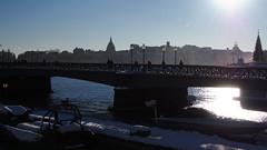 Early winter promenade (mpersson60) Tags: sverige sweden stockholm vinter winter vatten water bro bridge