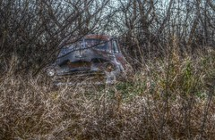 Chevrolet _5334-5335-5336HDR (Barrie Wedel) Tags: luminance hdr chevrolet automobile abandonded rural saskatchewan canada fleetmaster