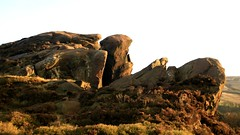 The Roaches, Derbyshire, UK. (mikeupton433) Tags: countryside peakdistrict gritstone theroaches britishlandscape canon450d 1855mmlense rockyoutcrops thewinkingman wideangellense cokinsquarep121mgrad