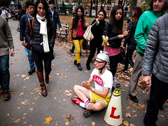DSCF6129 (john fullard) Tags: street nyc november newyork color colour costume candid explore lard washingtonsqpark 2015 fujix10
