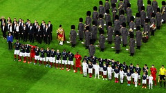 The France team stand ahead of the national anthems at Wembley (Ben Sutherland) Tags: france wembley lamarseillaise englandvfrance liberteegalitefraternite frenchteam frenchfootball frenchfootballteam frenchfootballfederation francefootballteam parisattacks francefootballfederation