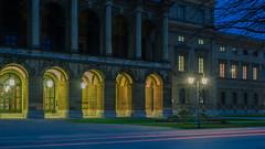 Light Lines (*Capture the Moment*) Tags: lamp munich lampe nightshot courtyard hofgarten abendstimmung 2015 nachtaufnahmen munichnightwalk