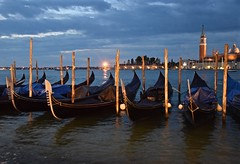 As Venice Awakens (The Spirit of the World) Tags: morning venice italy reflections boats dawn europe earlymorning buoys iconic gondolas waterreflections thebluehour stgiorgiomaggiore rivadeglischiavoni stmarksbasin