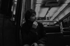 seraitcelabonneligne (renoleon) Tags: portrait blackandwhite bw paris 35mm subway nikon noiretblanc metro nb portraiture d90