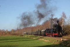 78 468 in Hasbergen bei der Ausfahrt nach GM-Hütte (fabian.kappel) Tags: 78 dampflok museumseisenbahn sonderzug gme hasbergen eisenbahntradition