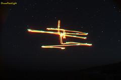 Drone Paint Light - Pintando el cielo estrellado con un Drone (aguslepe) Tags: light sky star astronomia drone dji paintlight djiphantom3 dronepaintlight