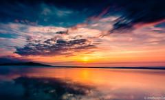 La tarde ya dormida - The afternoon already asleep (IrreBerenT) Tags: longexposure sunset sky sun beach clouds ocaso cantabria sanvicentedelabarquera sounrise irreberente playamern irreberentefotografa