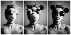 Untitled (Nataluxx) Tags: smoke smoking fumar humo hookah monocromatico