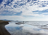 Stunning Karadere (VillaRhapsody) Tags: beach stunning gorgeous fishing man lonely one person alone reflections water sky clouds karadere patara challengeyouwinner cy2