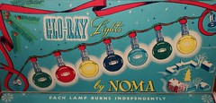 Vintage Christmas lights by Noma (reinap) Tags: vintage christmaslights noma vintagechristmaslights
