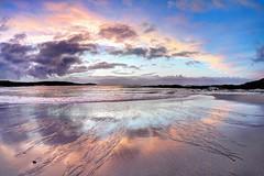 Scissors (pauldunn52) Tags: hosta beach sunset outer hebrides north uist scotland reflection wet sand